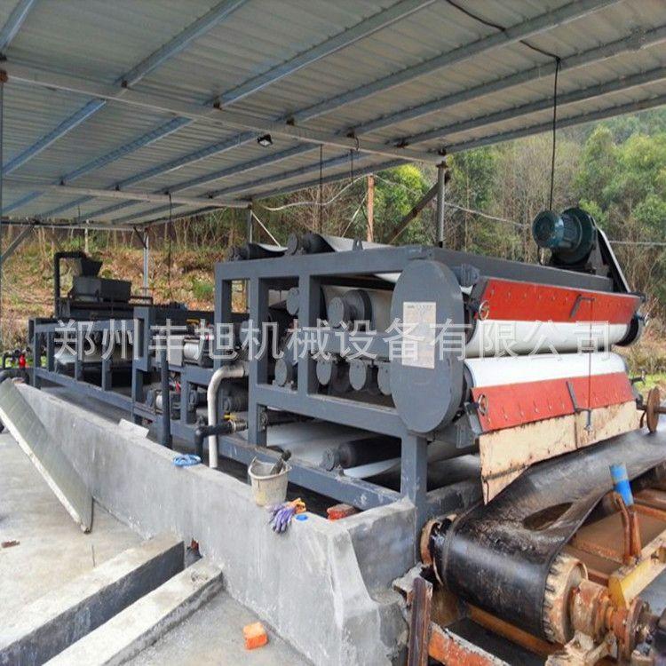 现货供应污泥浓缩脱水机 大型带式压滤机 污泥脱水机设备