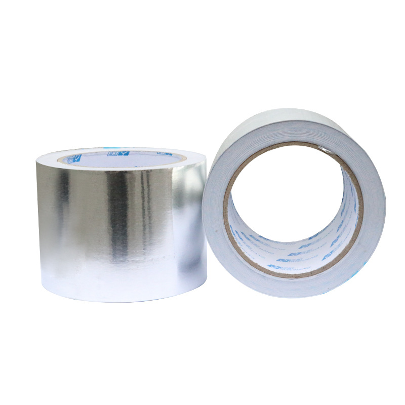 厂家铝箔胶带 风管热水器专用 耐高温阻燃锡箔纸防水防霉胶带
