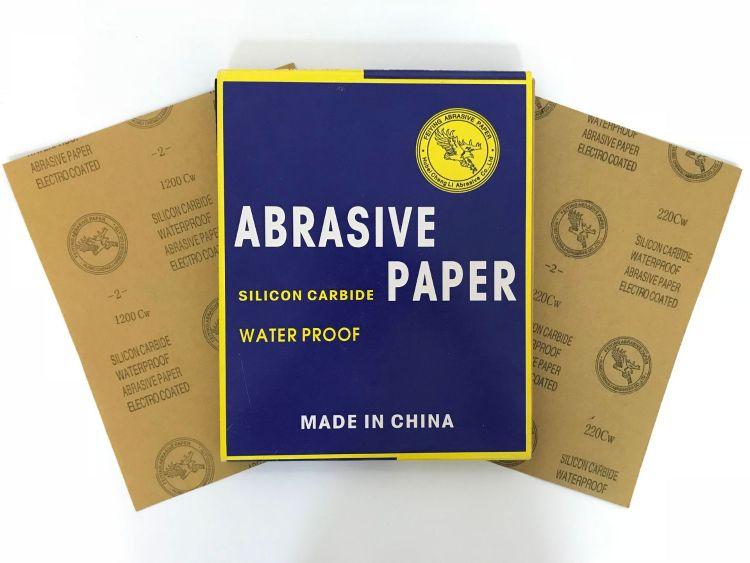 正品飞鹰牌2号 碳化硅水磨砂纸 鹰牌水砂纸 量大从优韩国鹰稗砂纸