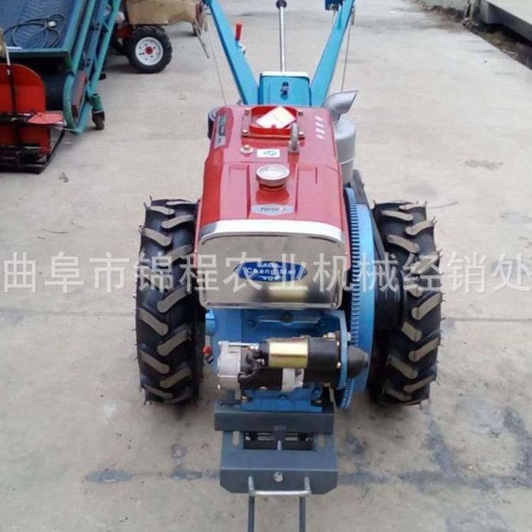 12马力手扶拖拉机 柴油微耕机 手扶拖拉机耕田机