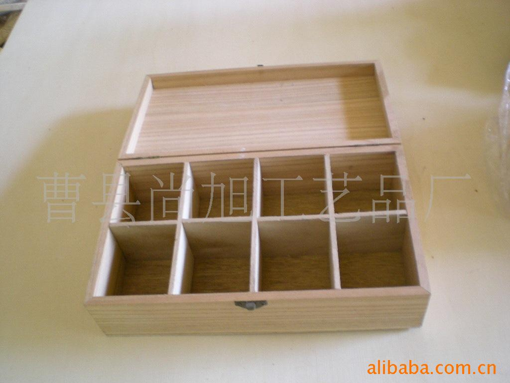 外贸生活用品桐木原色实木储物盒子 木头加工定做 木制包装盒