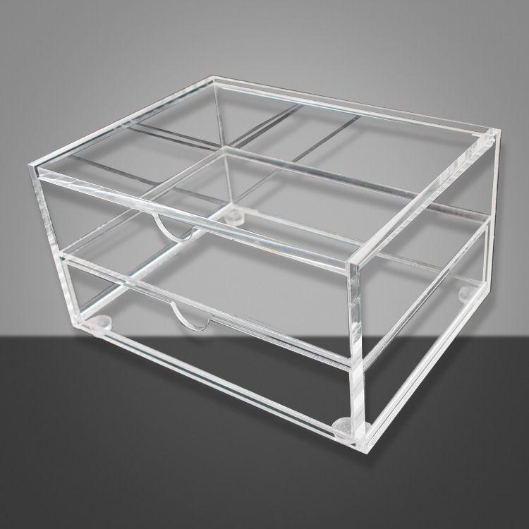 批发亚克力饰品包装盒 定制工艺品玻璃亚克力盒子 亚克力展示盒