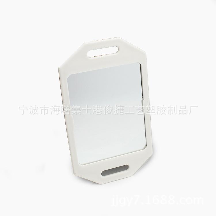 厂家直销塑料手柄镜单面镜 手持化妆镜 可挂墙式单面镜