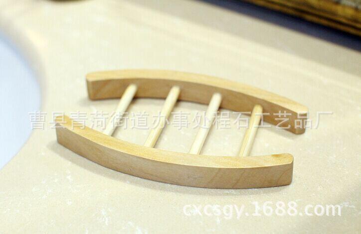 厂家直销木质卫浴用品 木制香皂盒香皂底座可定做