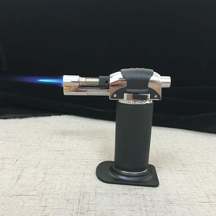 创意防风直冲打火机 喷火枪焊接焊枪 高温户外烧烤雪茄气体打火机
