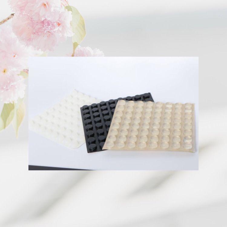 供应强粘3m硅胶垫 黑色硅胶脚垫 密封硅胶垫片自粘硅胶防滑垫