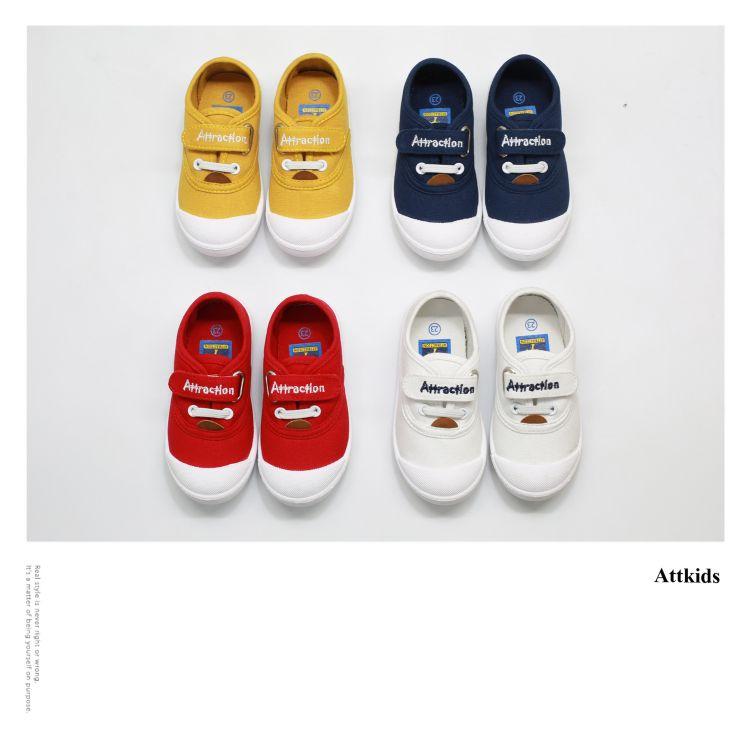 【A06】2018春款儿童帆布鞋糖果色新款童布鞋 童帆布鞋小白鞋