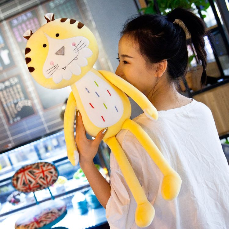 卡通可爱老虎毛绒玩具柔软舒适儿童毛绒玩具一件代发