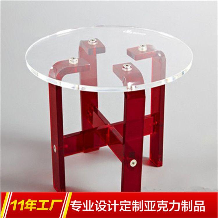 联华龙专业定做生产  亚克力桌椅 亚克力办公桌 亚克力高档家具