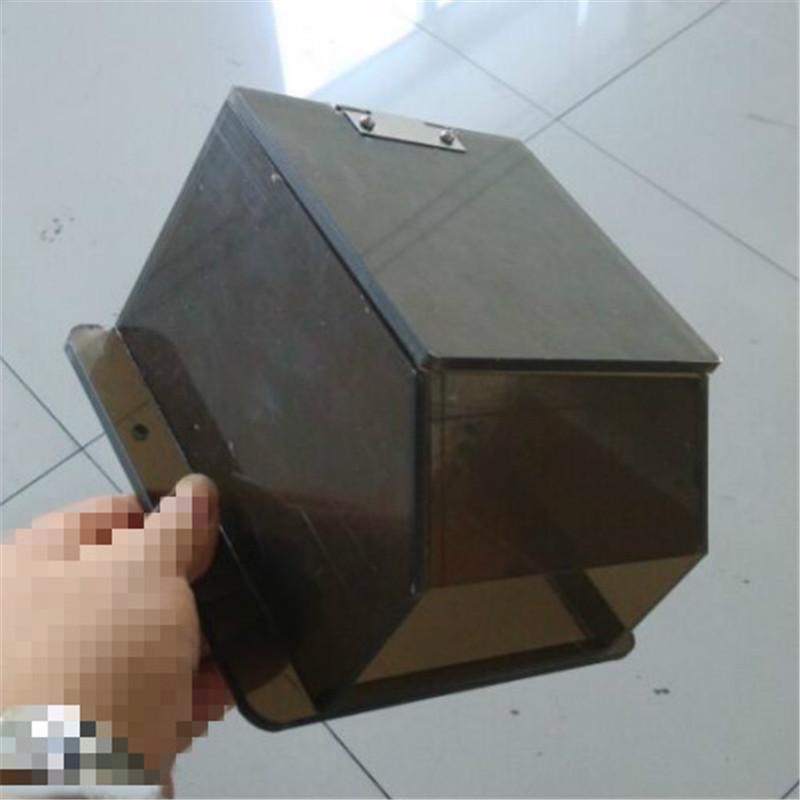 pc板材折弯加工 透明茶色pc板多角度折弯CNC精雕折弯加工