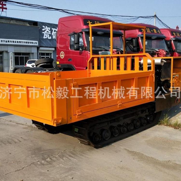 隧道履带运渣车 2方履带搅拌罐车厂家供应履带运输车