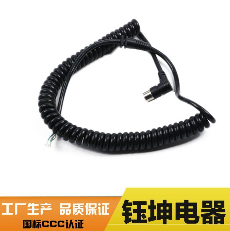 弹簧线厂家定做多芯弹簧线 电话tpu多芯弹簧线 电话tpu多芯弹簧线