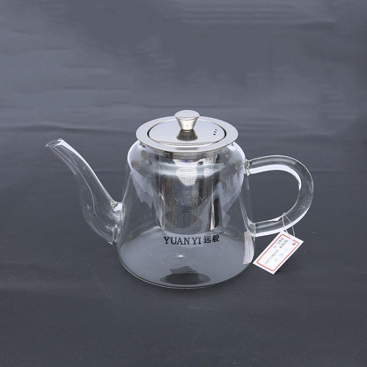 现货供应 远毅800ml玻璃壶 加厚耐热玻璃煮茶壶烧水壶茶具 批发