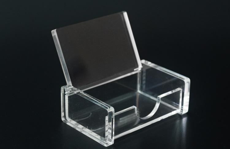 专业生产订做亚克力制品 亚克力盒子 亚克力展示架 会展名片盒