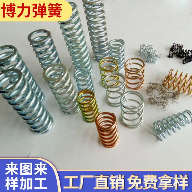 弹簧钢机械设备压缩弹簧 耐磨弹簧 多用途压缩弹簧 各种弹簧定制