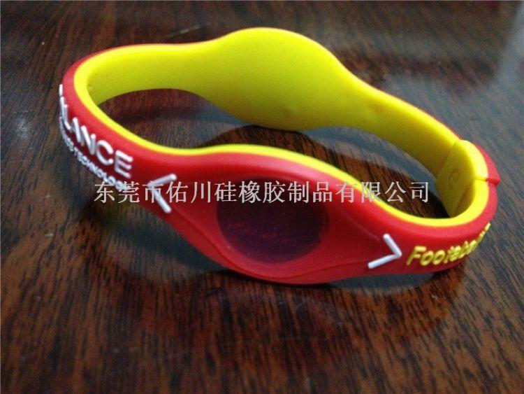负离子ION NBA腕带 篮球手环硅胶 平衡能量手环 运动纪念手环