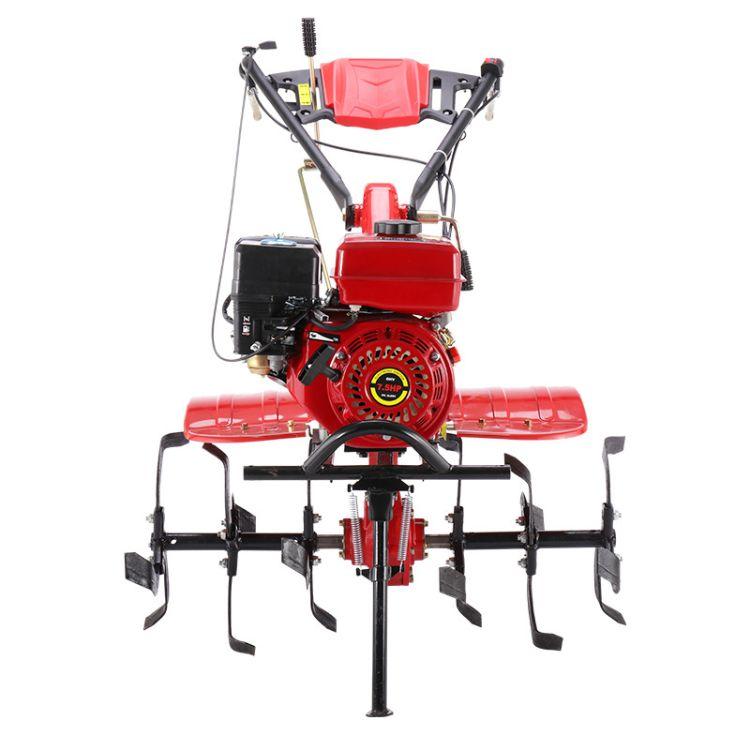 小型多功能耕地机果园翻土机拖拉机 开沟播种机柴油旋耕机微耕机