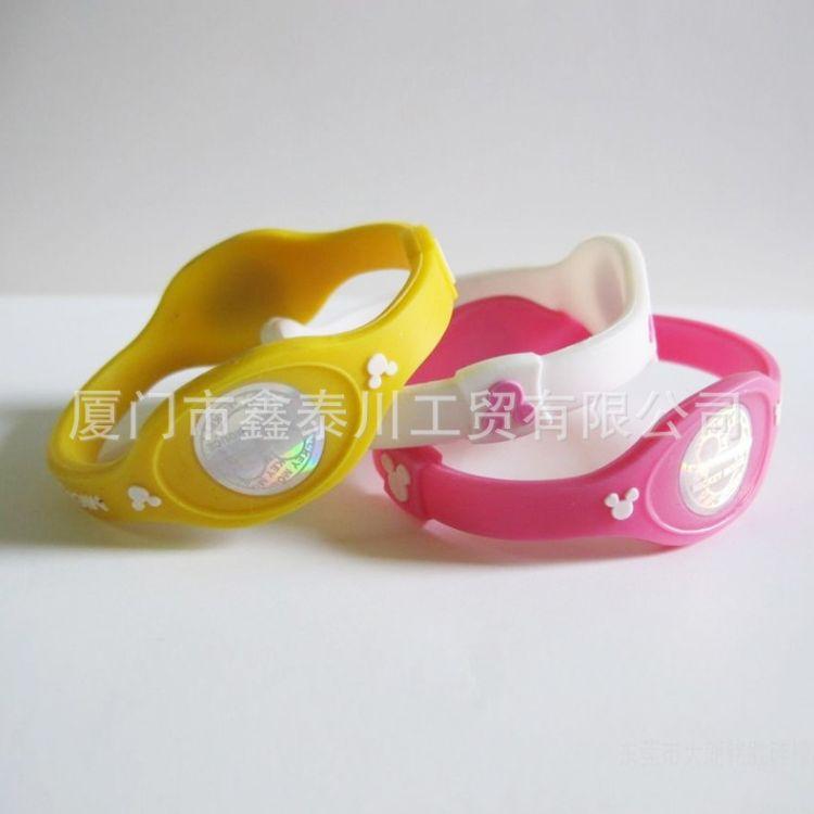 厂家直销 爆款 时尚简约 硅胶手环定做  彩色硅胶手环 定做印刷