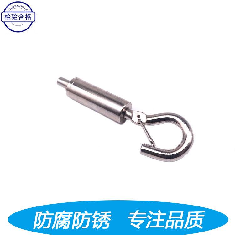 锁线器调节器带安全挂钩钢丝绳锁线器五金配件安全带调节器
