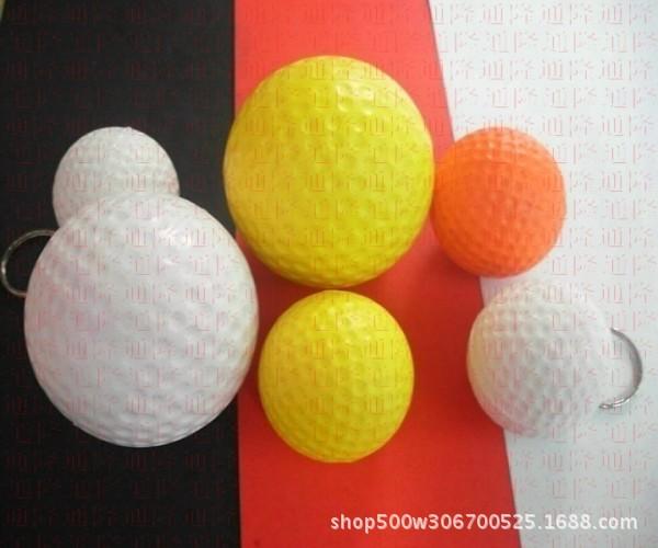 促销 直径卡通PU球 卡通海绵发泡球 表情慢回弹玩具