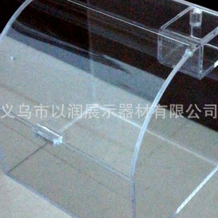 原创设计 玻璃盒子 散称糖果亚克力食品盒 有机玻璃展示盒定做