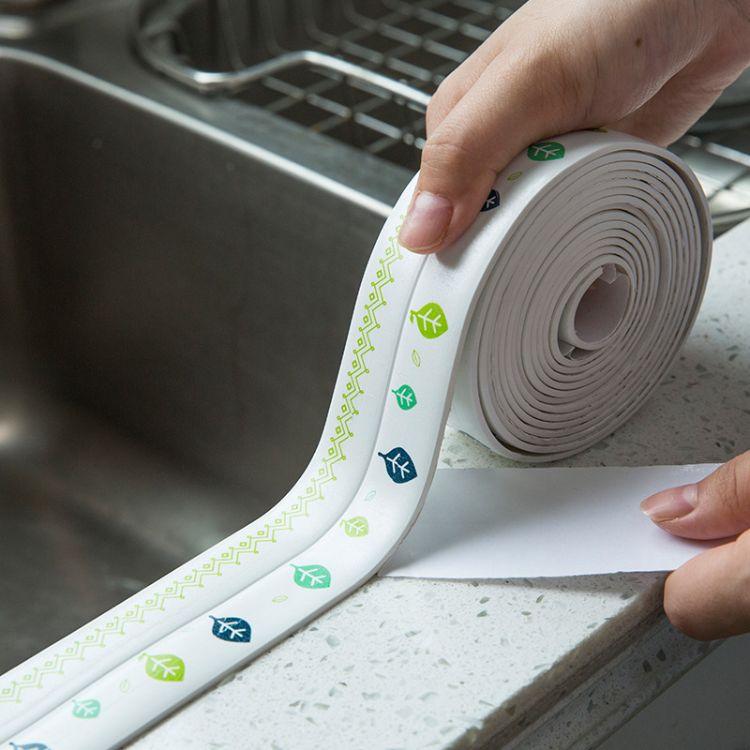 亚克力胶防霉胶带厨房水槽浴室防水贴接缝马桶美缝胶带
