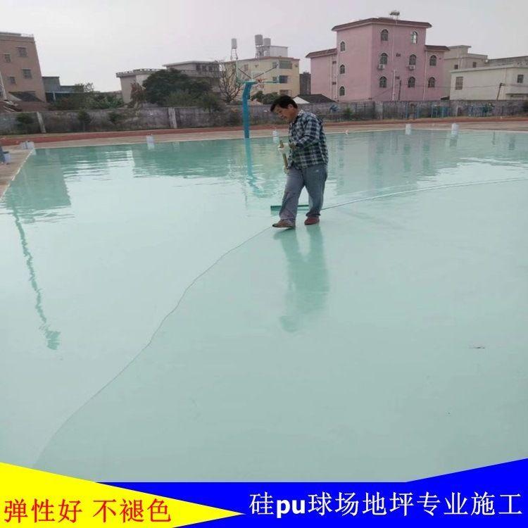 云浮篮球场地坪漆  运动场地坪  丙烯酸球场地坪
