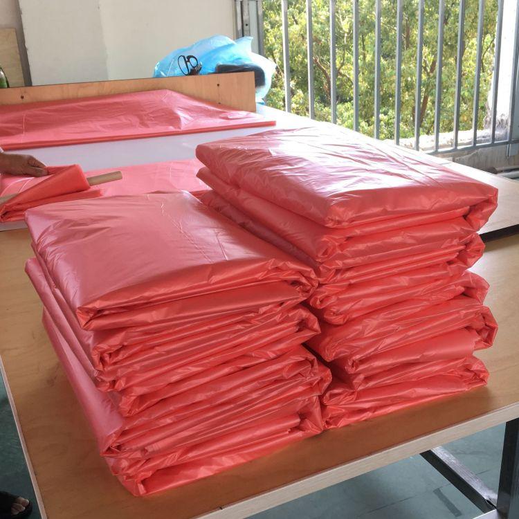 红色抗静电PE袋 高低压PE平口袋 大号包装袋 厂家直销可订制尺寸