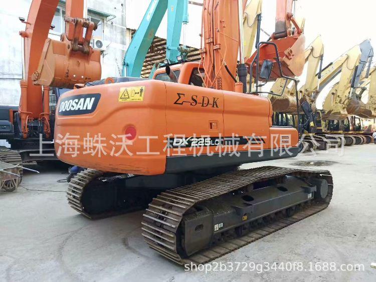 斗山DX225二手挖掘机 二手斗山挖掘机钩机挖土机 二手大宇挖掘机
