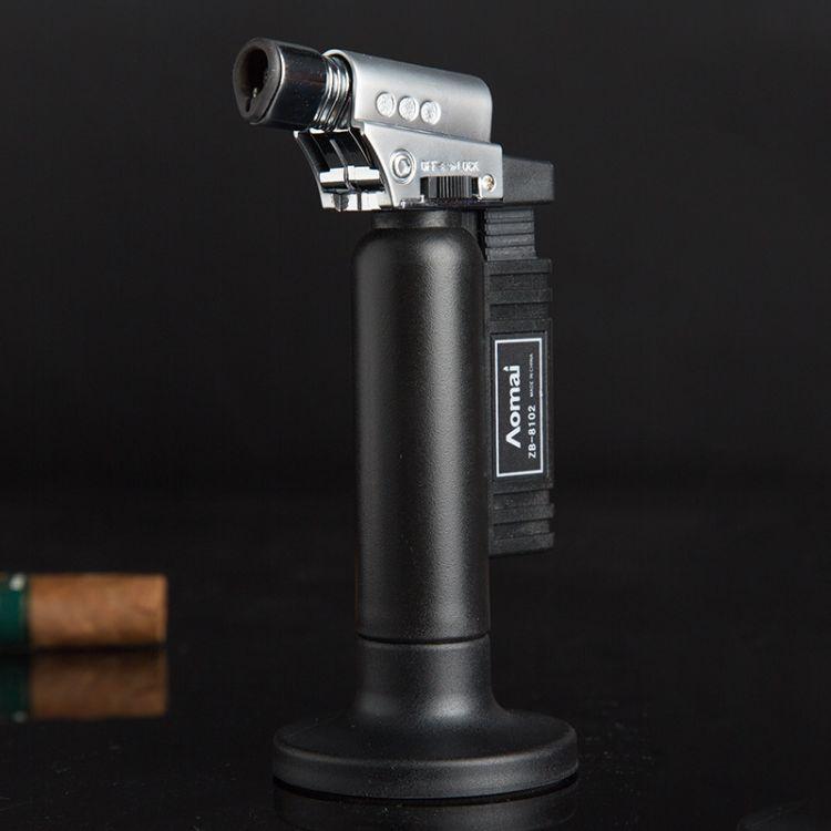奥麦正品AM8102充气直冲喷枪小焊枪打火机
