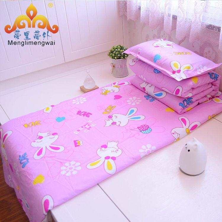幼儿园被子床上用品六件套纯棉婴儿被芯被褥手工棉被厂家批发