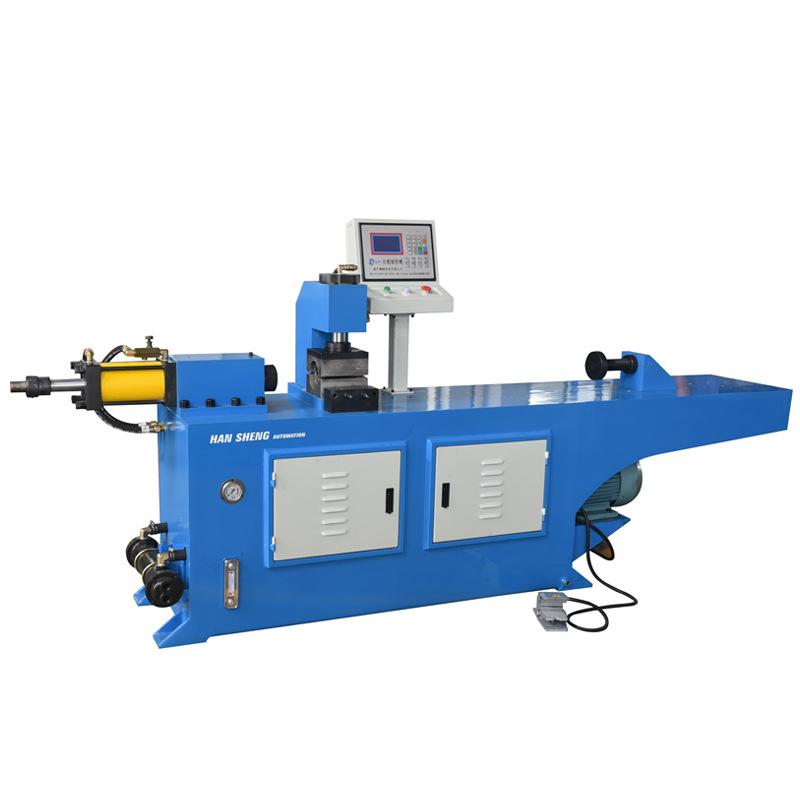 厂家直销  缩管机 大型弯管机 铝管弯管机设备