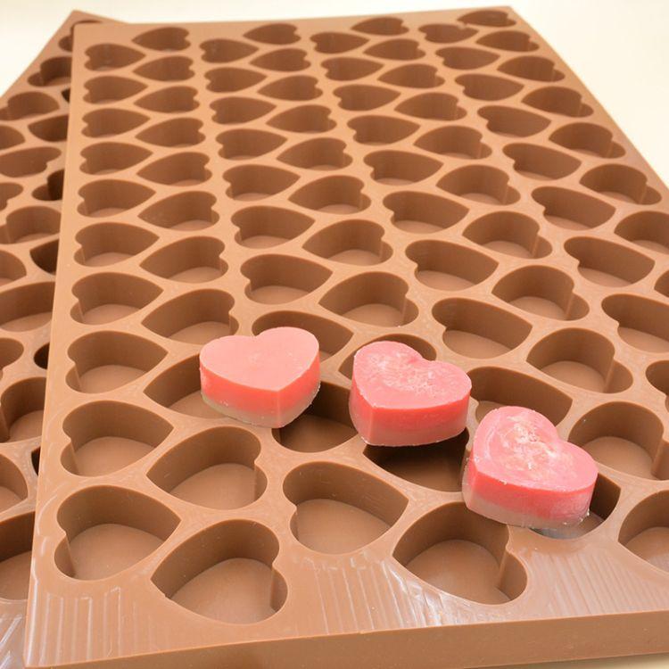 定做心形模具 硅胶DIY甜点红糖软糖翻糖蛋糕模大号硅胶烘焙工具