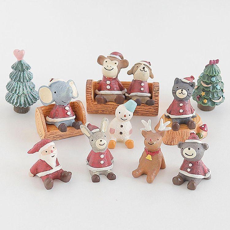 树脂小摆件圣诞礼物创意礼品仰望天空装饰品摆设置物架搁板小道具