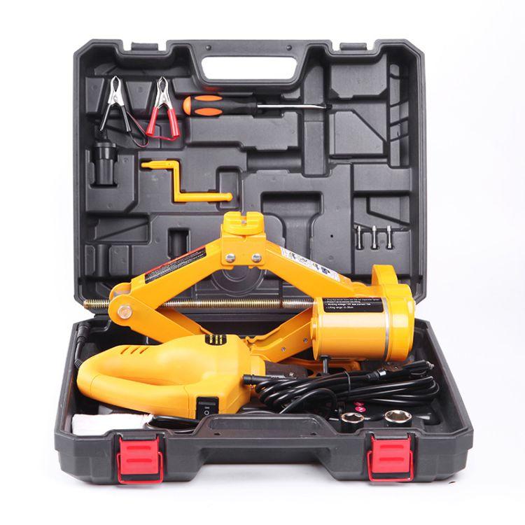 千斤顶 车载设备 12v电动扳手工具 电动液压千斤顶 汽车维修工具