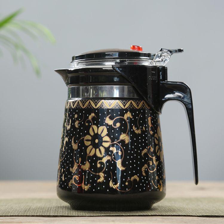 巴马长寿 养生飘逸泡茶壶日用飘逸茶杯泡茶器家用过滤日用礼品