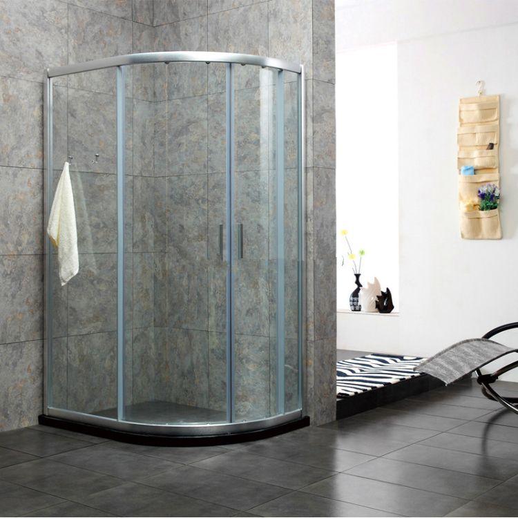 17年专业生产简易淋浴房 厂家直销 浴室扇形淋浴房 ALFB-2013