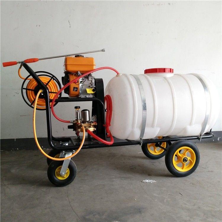 性能稳定家用拉管式洗车机 杀虫除草大容量园林苗圃高压喷药机