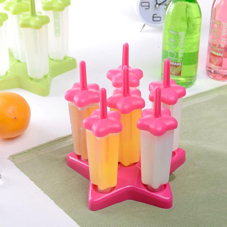厂家批发棒冰模具 五角星 雪糕模具 DIY厨房小工具 冰棍模促销品