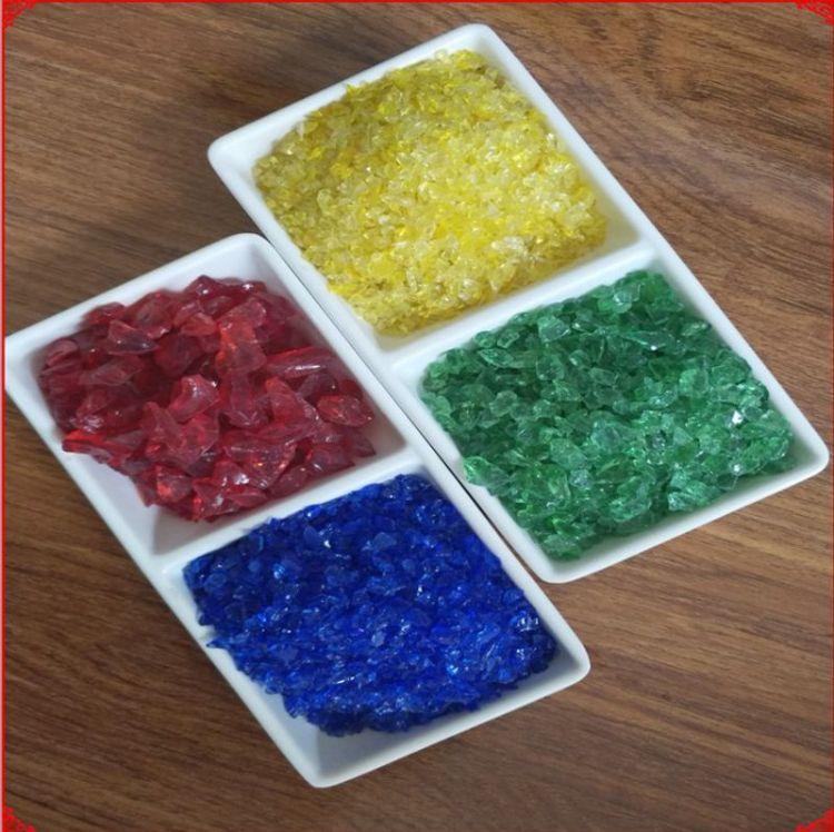 厂家直销玻璃砂 玻璃微珠 玻璃颗粒 喷砂玻璃微珠 园艺装饰 铺面