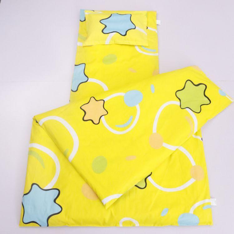 新款儿童三件套床上六件套幼儿园用纯棉床上用品