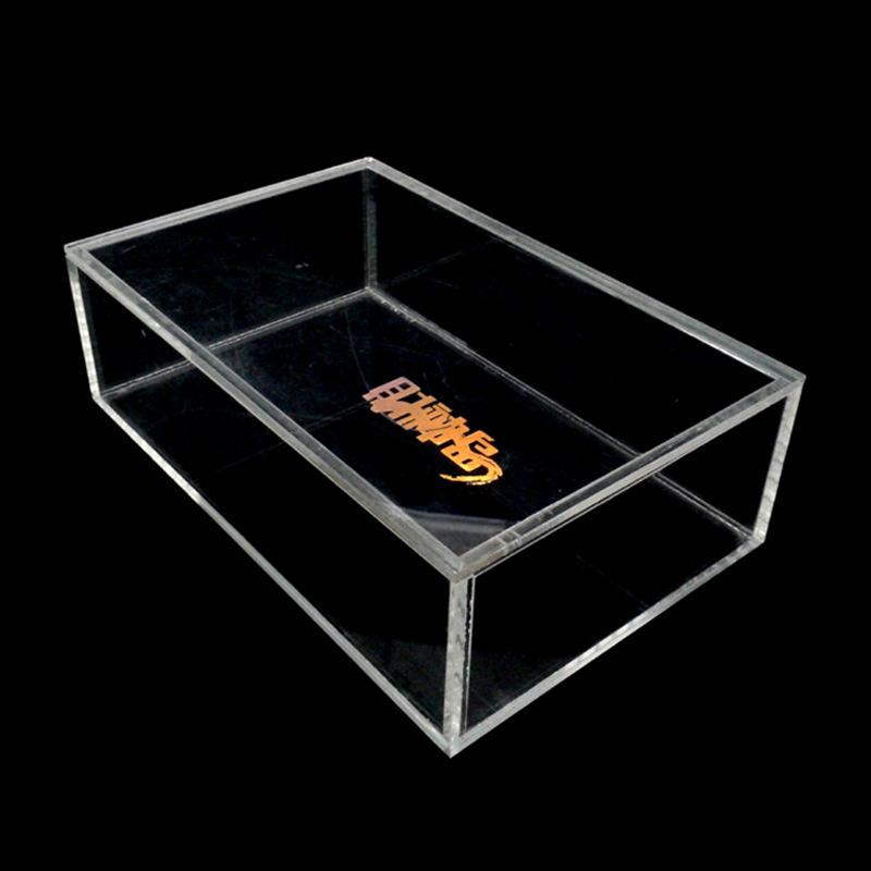 厂家定制亚克力透明展示盒 有机玻璃展示盒 亚克力盒子可加印logo