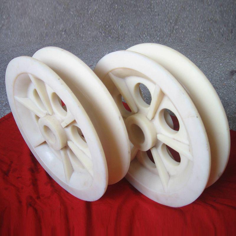 厂家批发 大量现货 质量价廉 耐磨含油尼龙滑轮