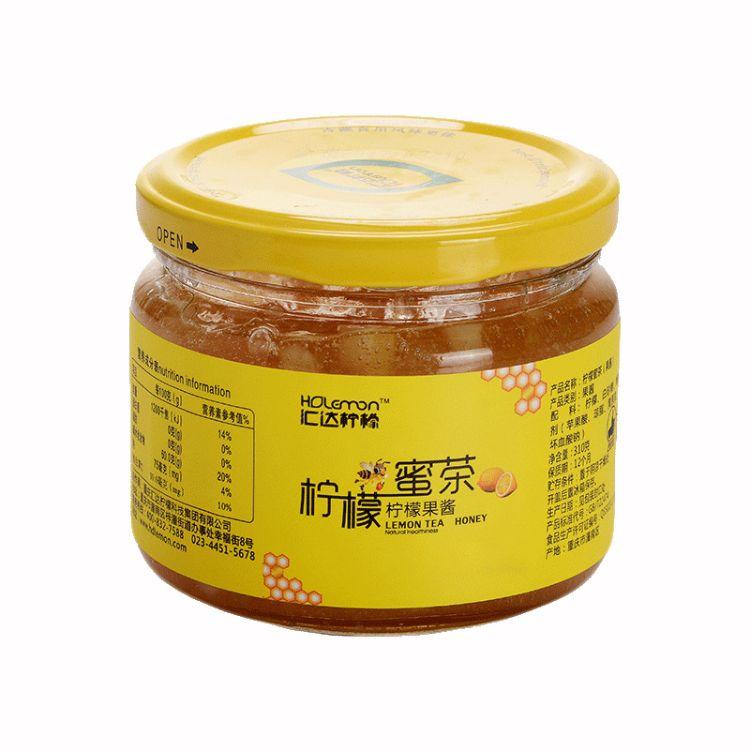 汇达柠檬 蜂蜜柠檬茶220g*9瓶箱 冲饮蜂蜜饮品批发