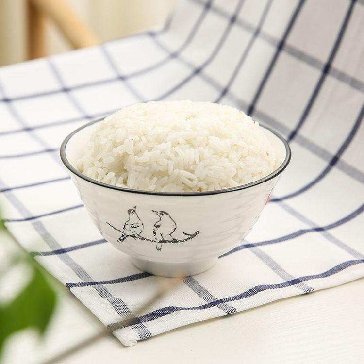 玖盛窑 陶瓷餐具批发手绘釉下彩日式套装 陶瓷 家用福鸟归巢系列