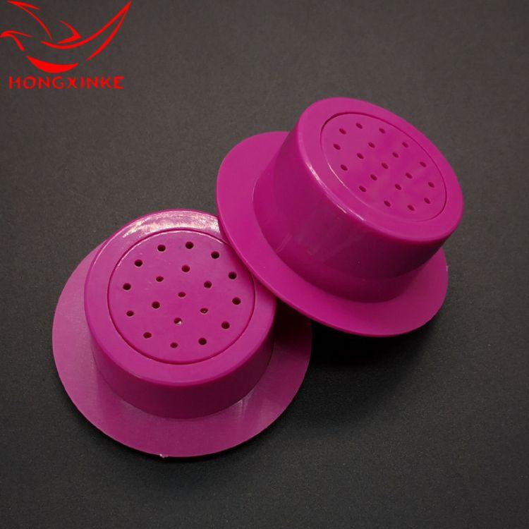 微型儿歌挤压音乐盒 鸿芯科定制圆筒带边按压发声玩具音乐盒