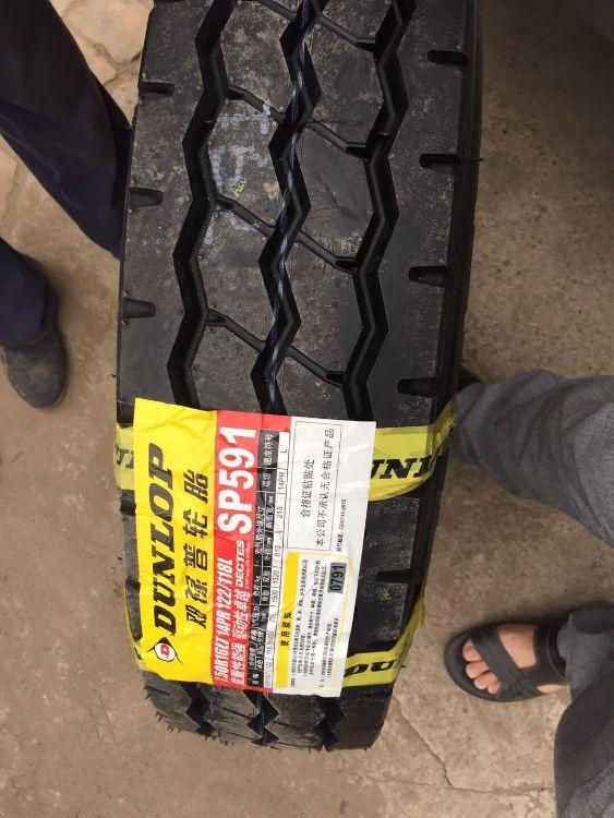 邓禄普750R16 加强型轻卡货车轮胎 加厚耐磨