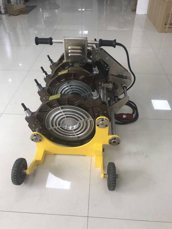 瑞德PE管焊接机热熔焊接机电熔机全自动焊接机塑料焊机63-200