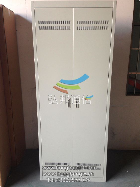 [弘邦直供]HB-GPX光纤配线架 ODF配线机柜 2米熔配机房配线架