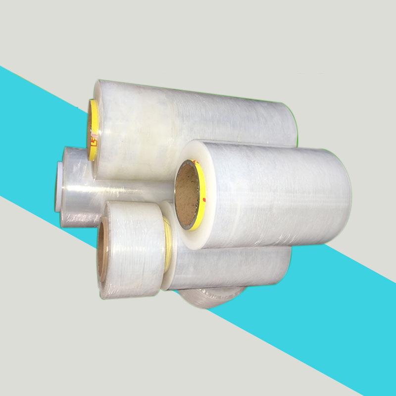 长期批发 加粘 90公分宽缠绕膜 厂家打包膜包装薄膜塑料包装膜